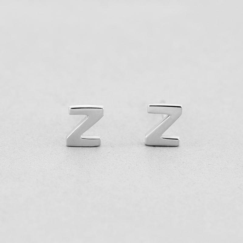Сережки Letter Z купить