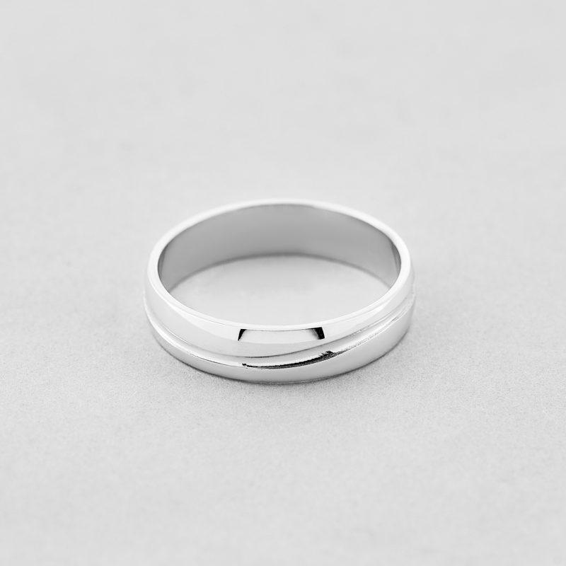 Кольцо обручальное Линии судьбы купить