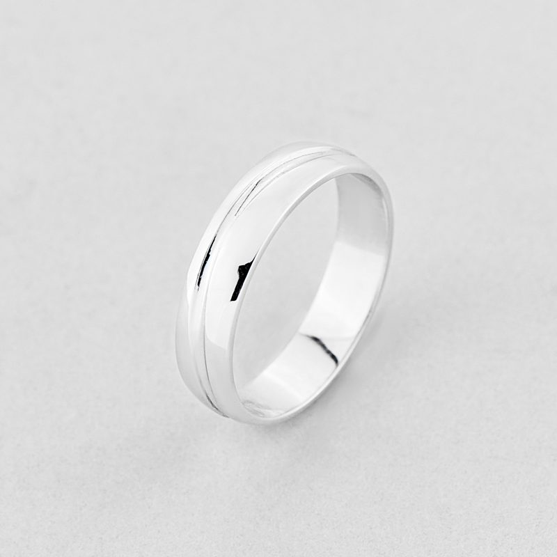 Кольцо обручальное Линии судьбы недорого