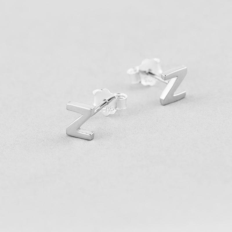 Сережки Letter Z недорого