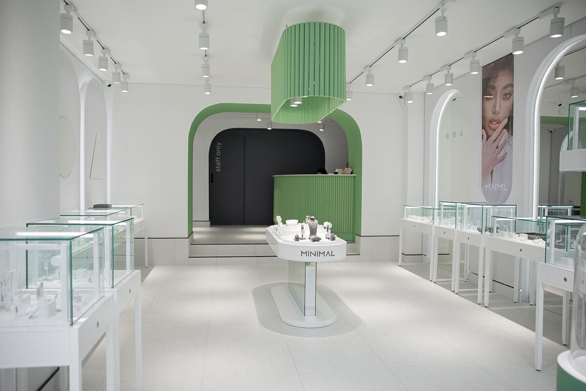 Перший брендовий магазин minimal
